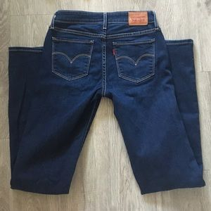 Levi's 2nd pair of714 size 26 straight leg jeans!